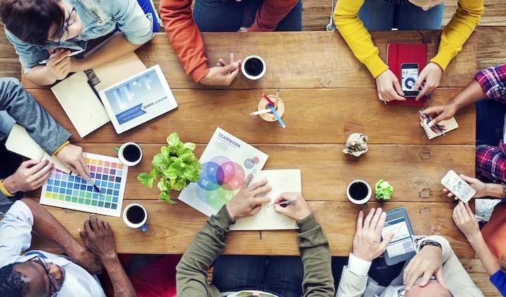 Equipo para emprendedor o negocio digital