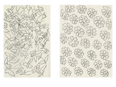 Examples of drawing by Matisse.