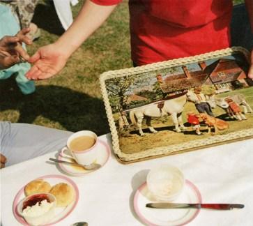 A Methodist Chapel fundraising tea. Chew Stoke.1992