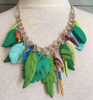 Jungle Parrot Necklace Limited Edition