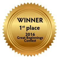 Winner, 1st place, 2016 Great Beginnings contest
