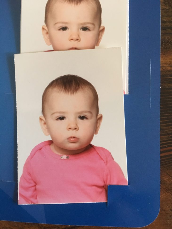 passport photos for 10 month old baby girl
