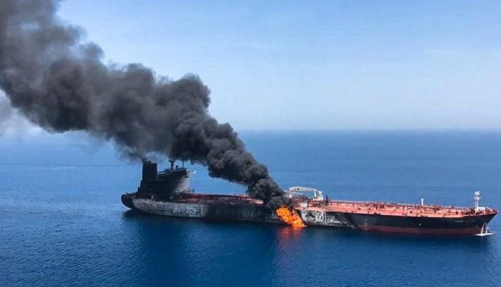 لهيب الناقلات يُحرق 'الرسائل' الديبلوماسيّة واشنطن: إيران مسؤولة عن هجمات خليج عُمان | النهار