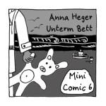 Vorderseite Minicomic 6 Unterm Bett