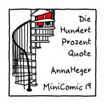 Vorderseite Minicomic 19 : Die Hundert-Prozent-Quote