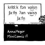 Vorderseite Minicomic 17 Weisse Schafe IPA
