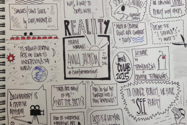 Creative Mornings sketchnote
