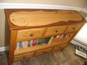 Field Bookshelf detail