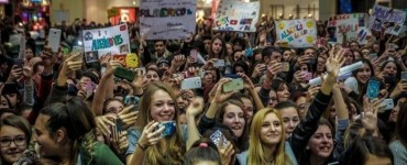 YouTubers nei centri commerciali