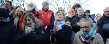 esorcismo durante l'apparizione del 2 gennaio 2017 a medjugorje