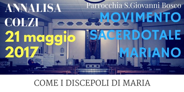 INCONTRO parrocchia San Giovanni Bosco