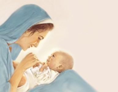 la maternità di maria