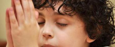 preghiera prima di dormire