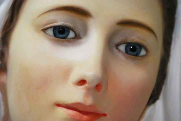 volto perfetto di Maria Vergine