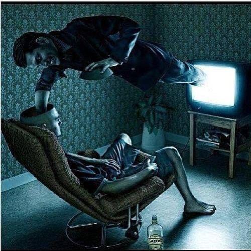 la televisione lavaggi del cervello