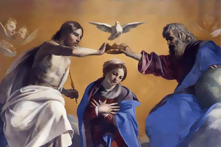 La Santissima Trinità nel soldato di Maria