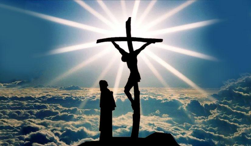 maria ai piedi della croce di Gesù