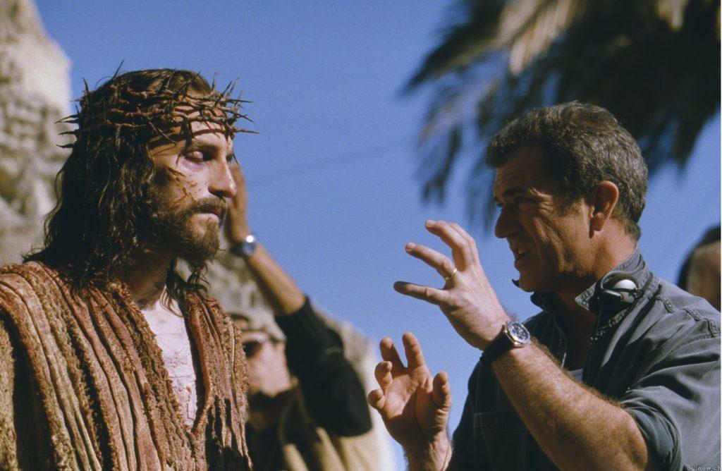 Scena del film The Passion con Jim Caviezel.