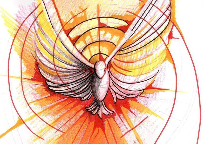 Spirito Santo che tutto trasformi scendi su di noi