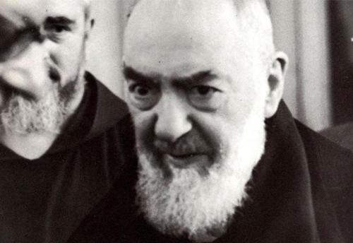 Il volto di Padre Pio come quello di Mosè