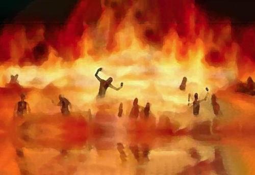 Le manifestazioni dell'inferno
