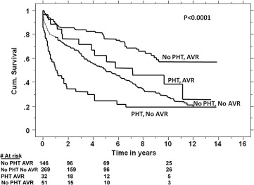Survival Benefit of Aortic Valve Replacement in Patients