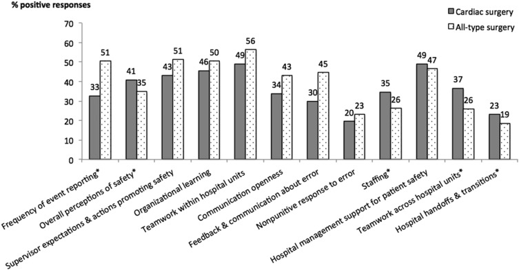 Safety Culture in Cardiac Surgical Teams: Data From Five
