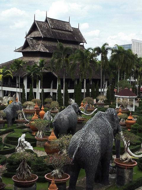 Nong Nooch Tropical Botanical Garden in Pattaya, Thailand