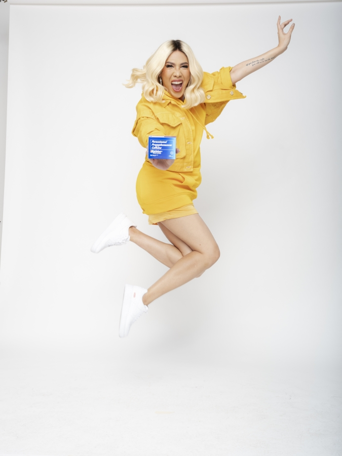 Vice Ganda and her ally for fast-acting pain relief in this pandemic