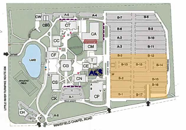 Nova Annandale Campus Map