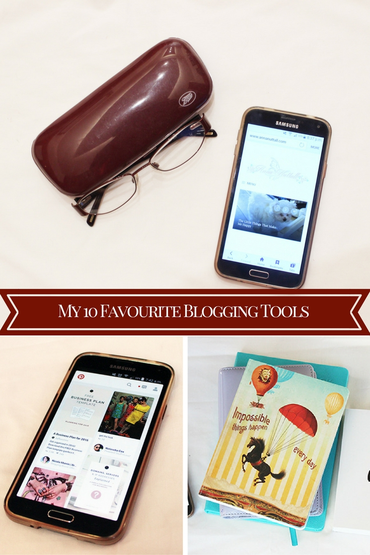 My 10 Favourite Blogging Tools