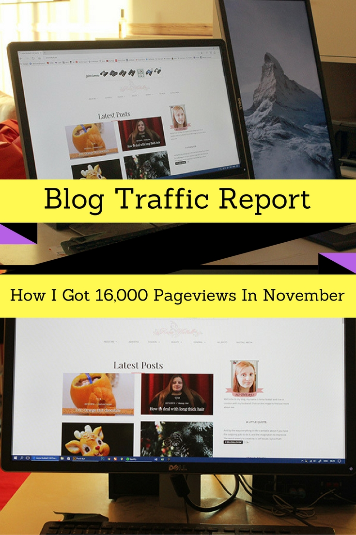 How I Got 16,000 Pageviews In November