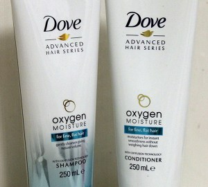 Dove shampoo and conditioner