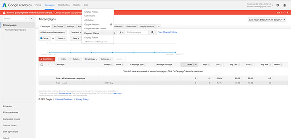 how to use Google Keyword tool for your blog