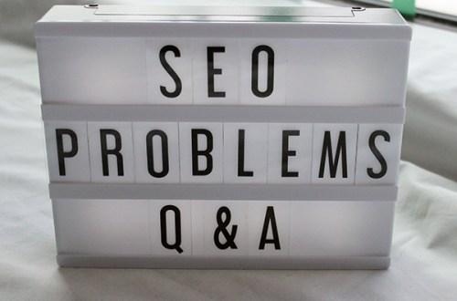 SEO problems Q&A