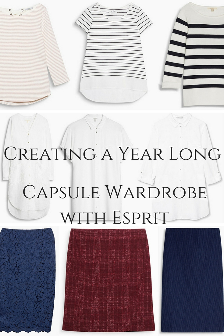 Creating a Year Long Capsule Wardrobe with Esprit