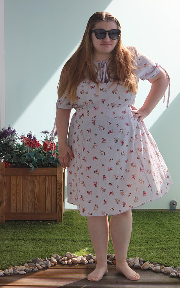 1940s inspired tea dress