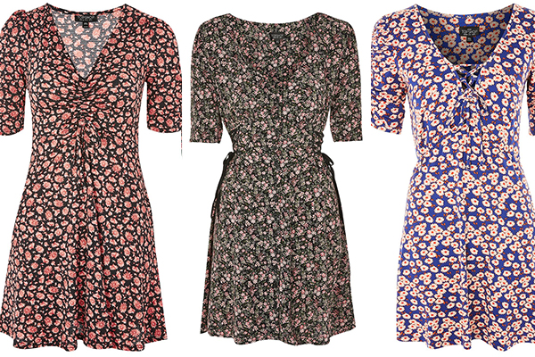 Topshop tea dresses