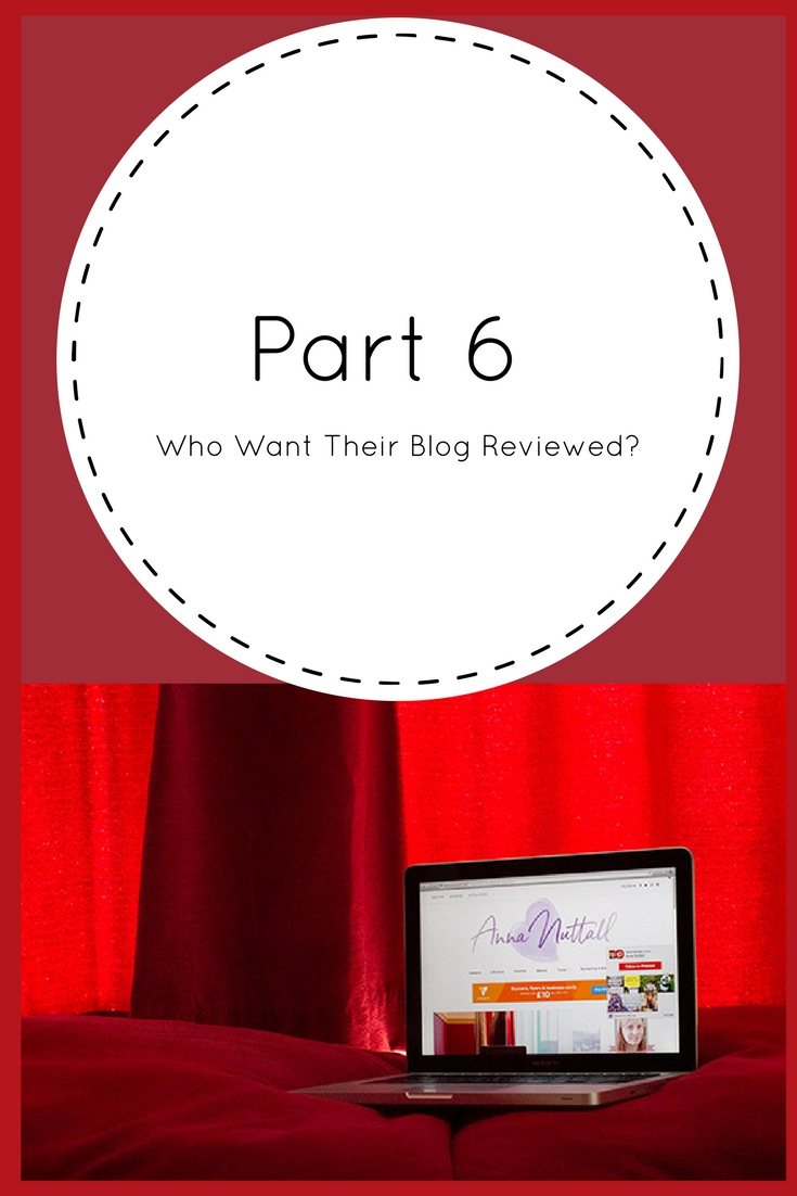 Part 6 blog reviewed