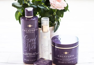 Champneys heavenly days relaxing products