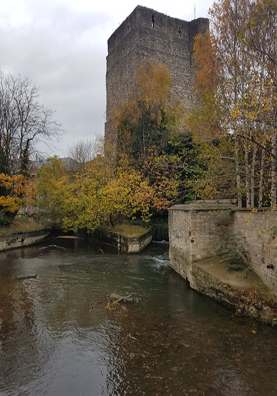 visiting Oxford Castle