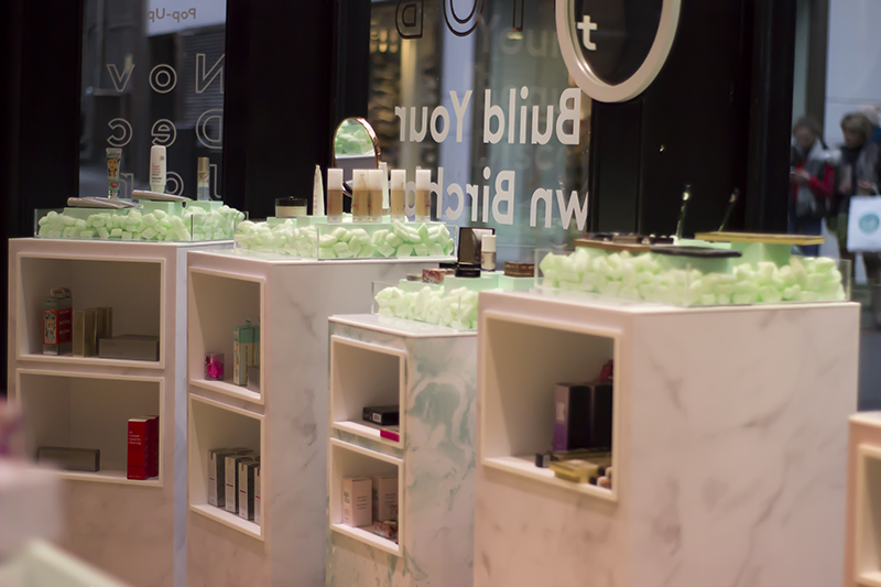 Birchbox pop-up shop London
