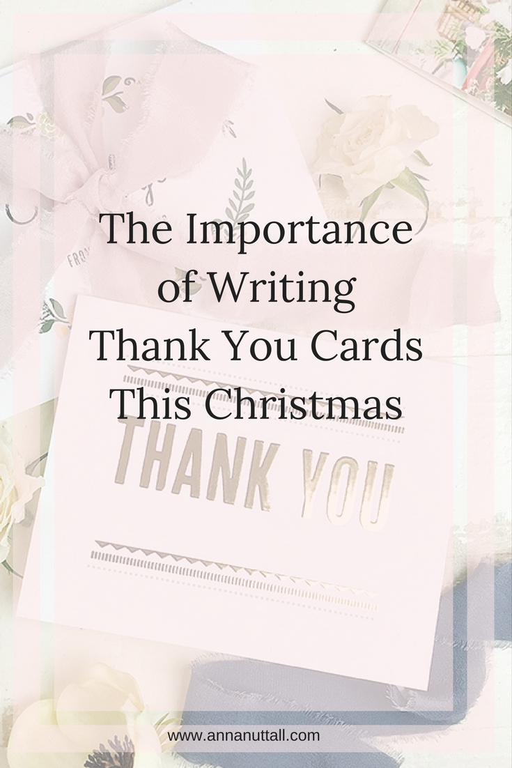 thank you cards this Christmas
