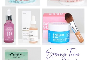 springtime beauty products to buy