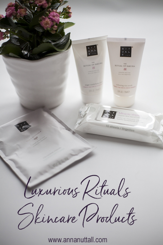 Luxurious Rituals Skincare Products