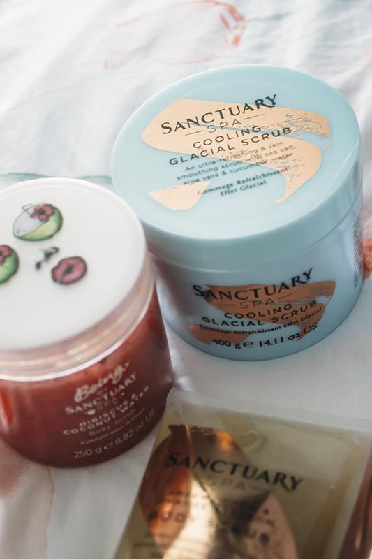 Sanctuary Spa Body Scrubs