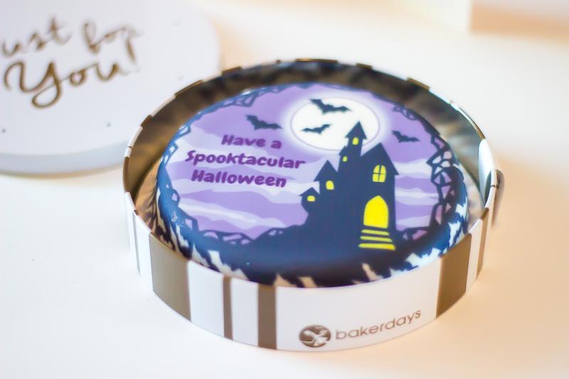 Bakerdays Halloween cake