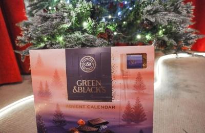 Green & Black Advent Calendar