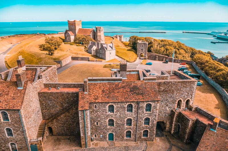 Dover Castle English history