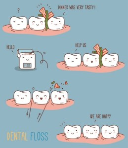 Help! How Come Food Keeps Getting Stuck in My Teeth?